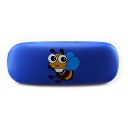 Modré dětské pouzdro na brýle